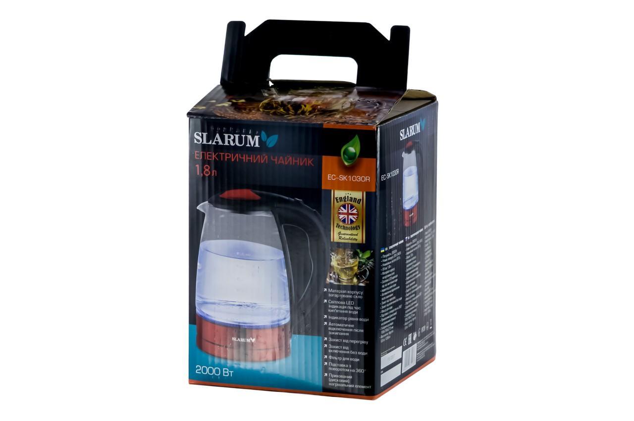 Электрочайник Slarum - EC-SK1030R 4