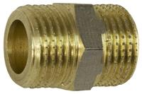 Ниппель никель STA - 1/2Н x 1/2Н Lux под прокладку