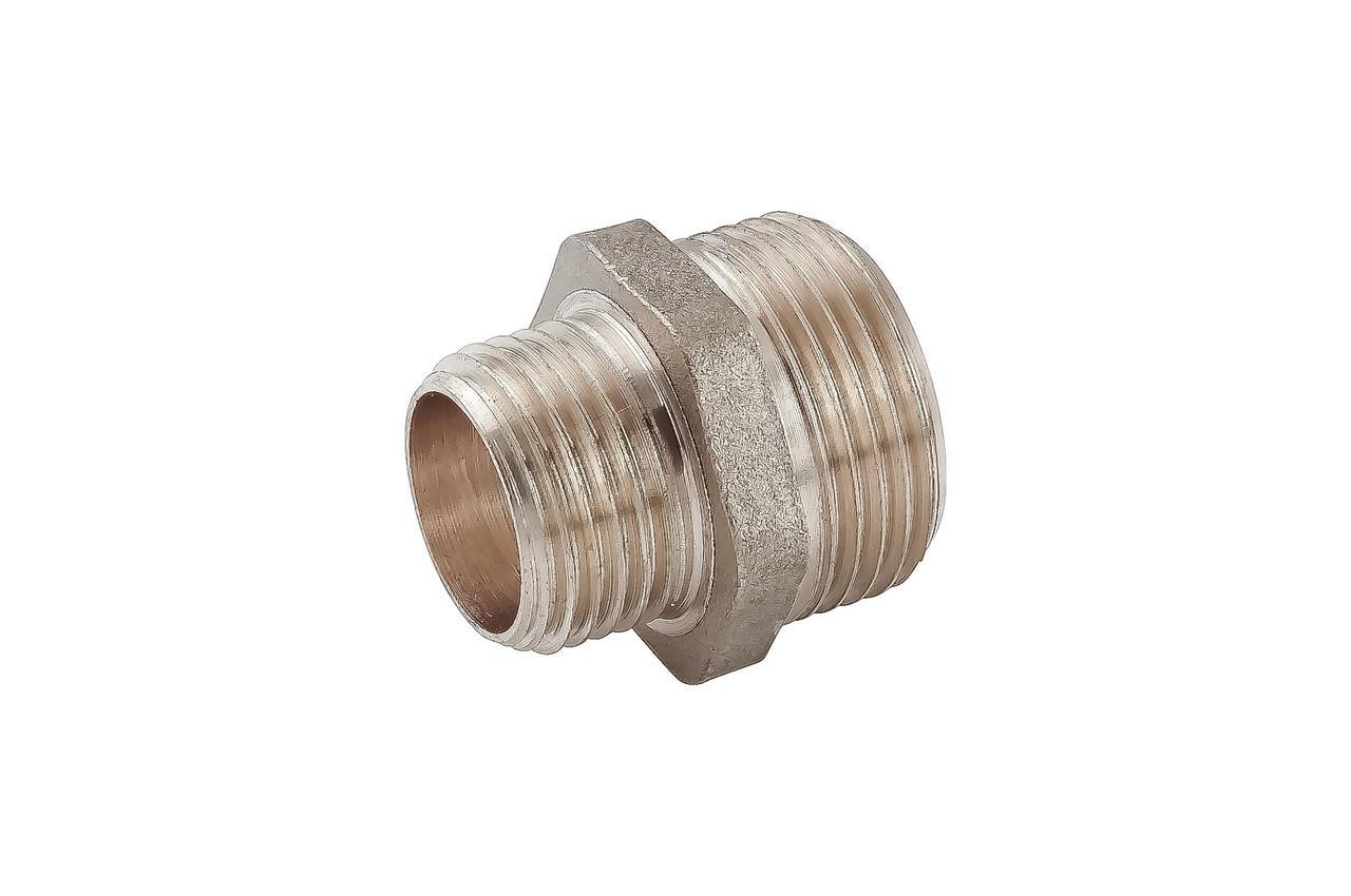 Ниппель никель STA - 1/2Н x 3/4Н Lux 1