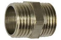 Ниппель никель STA - 1/2Н x 1/2Н Lux