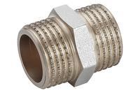 Ниппель никель STA - 3/4Н x 3/4Н Lux