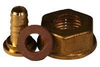 Штуцер для газового баллона латунь Никифоров - 22 x 1,5 мм В