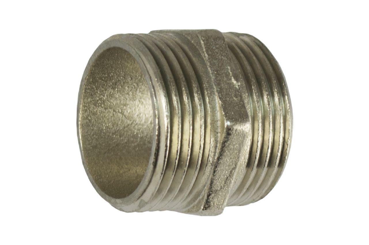 Ниппель никель Никифоров - 1Н x 1-1/4Н 1