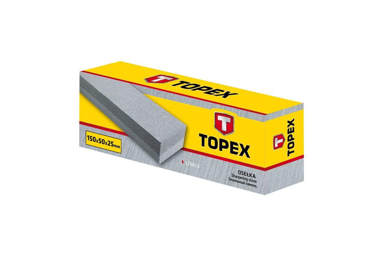 Точильный камень Topex - 150 х 50 х 25 мм 2