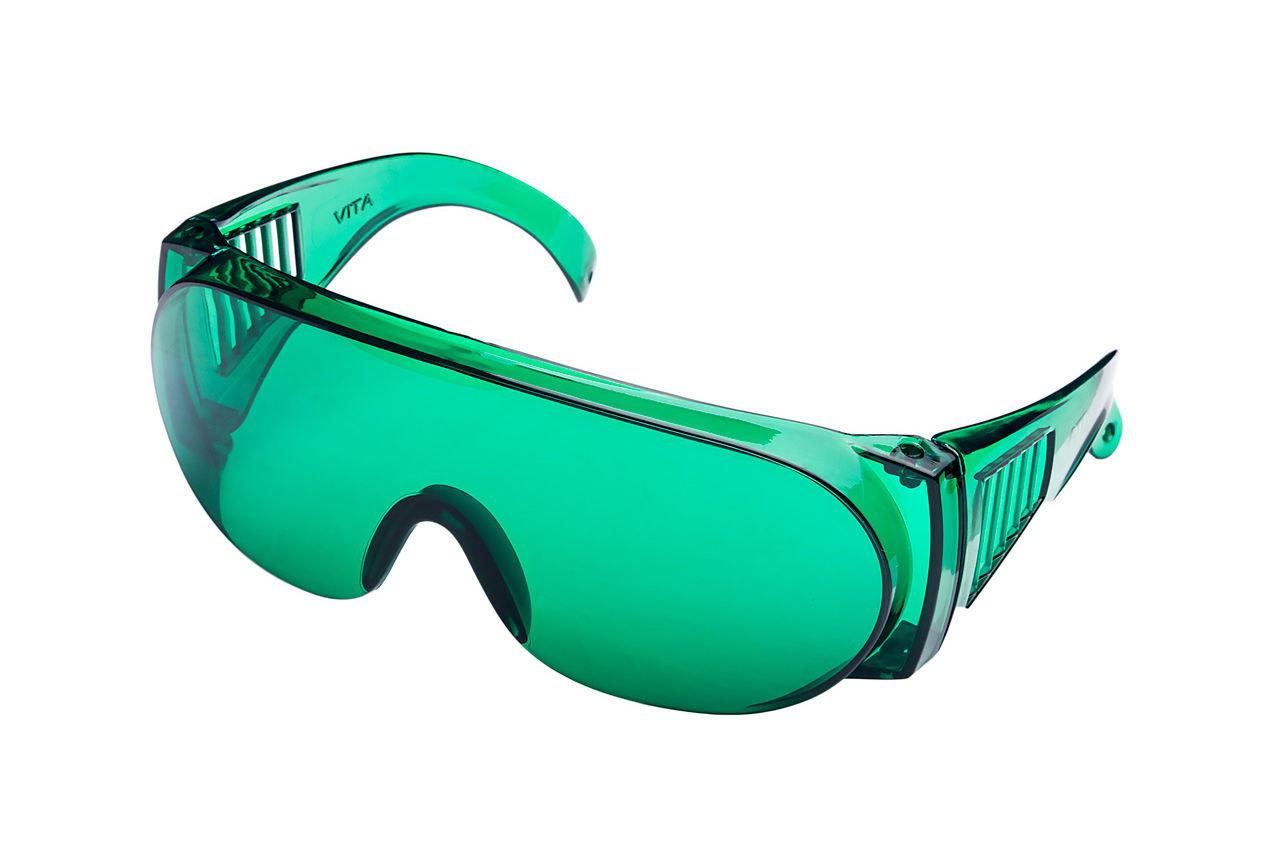 Очки защитные Vita - озон (зеленые) 1