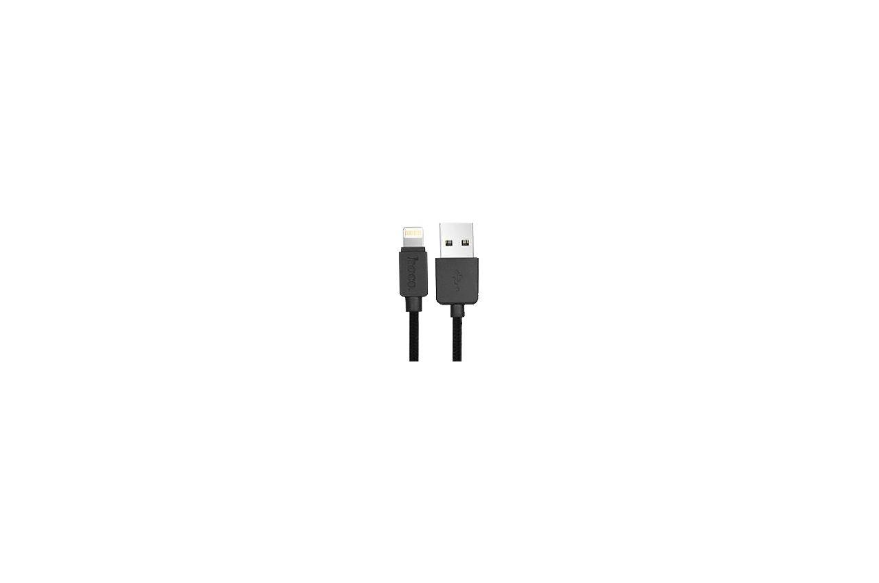 Кабель Lightning Hoco - U12 1,1 м Black 1