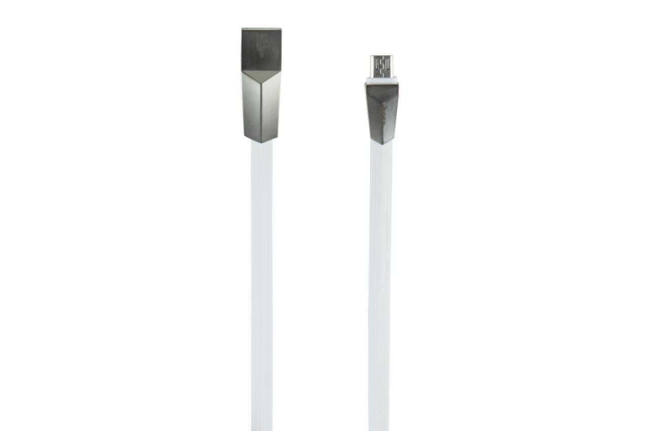 Кабель Micro-USB Hoco - X4 1 м White 1