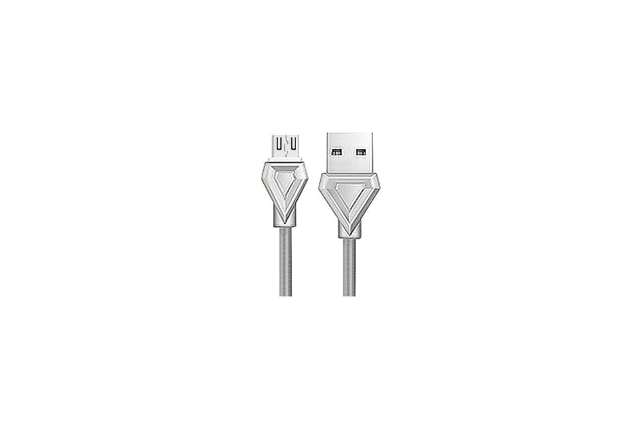 Кабель Micro-USB Hoco - U25 1 м Gray 1