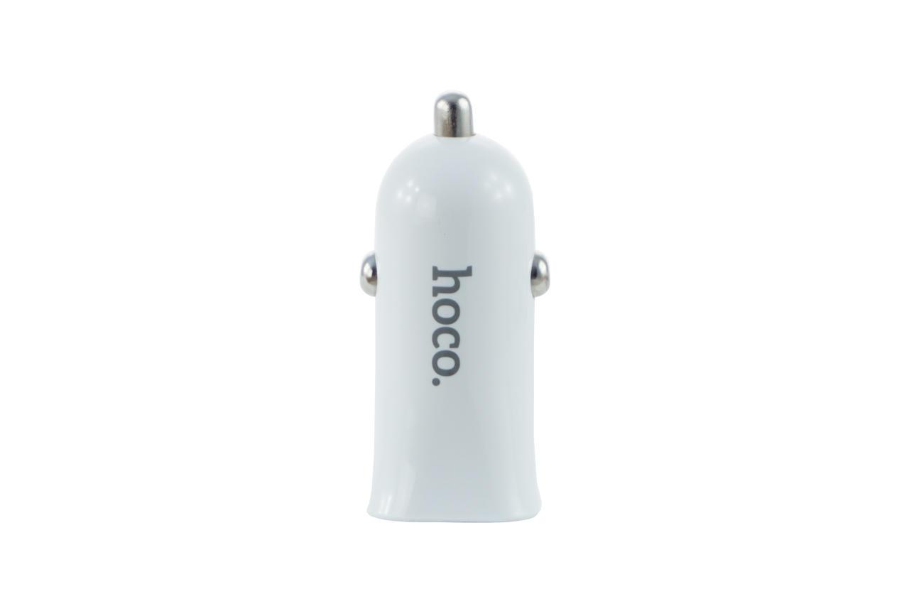 Автомобильное зарядное устройство Hoco - Z12 2USB White 2