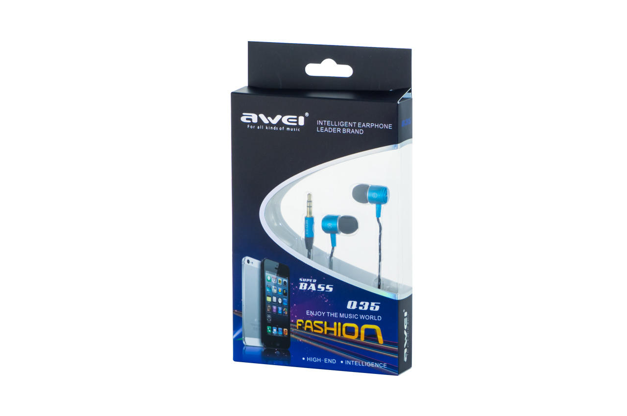 Наушники Awei - Q35 Blue 1