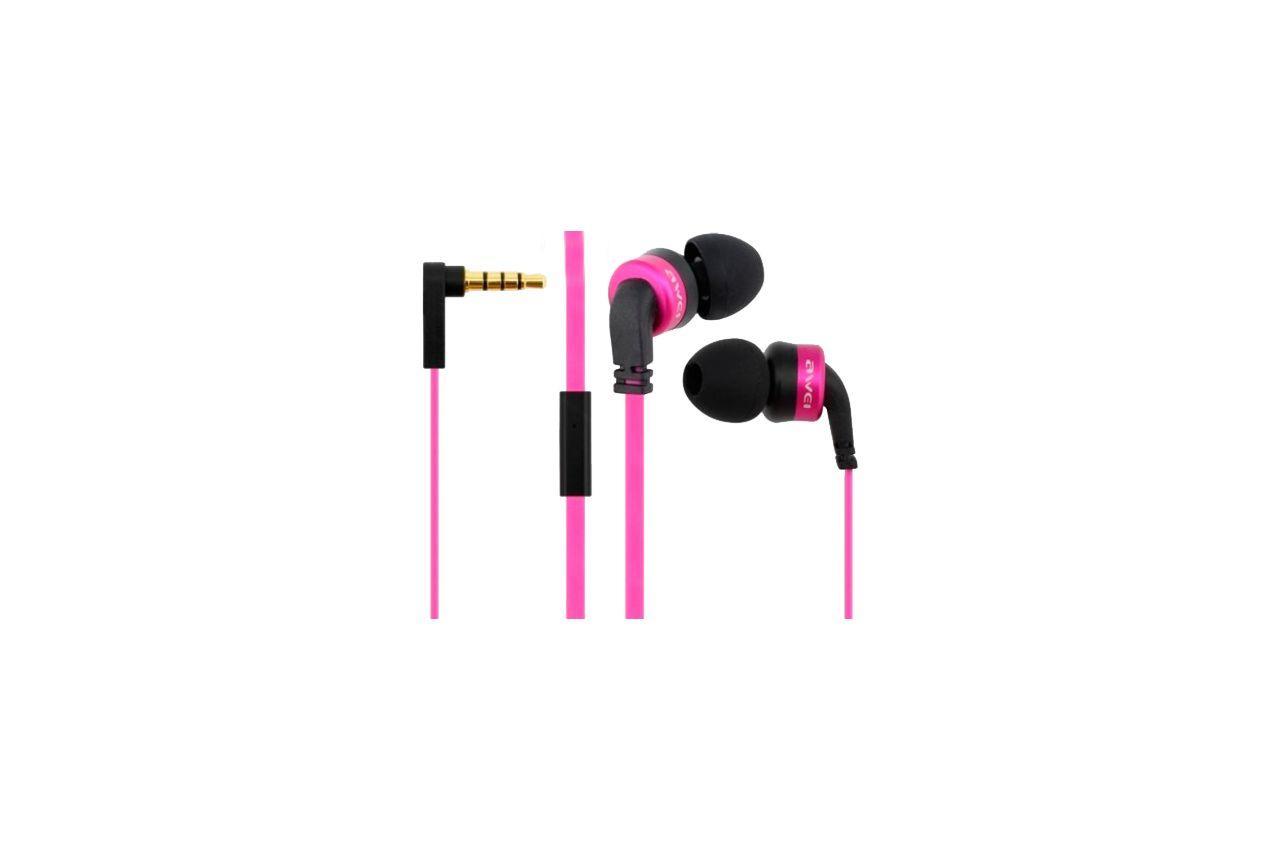Наушники Awei - ES13i Pink 1