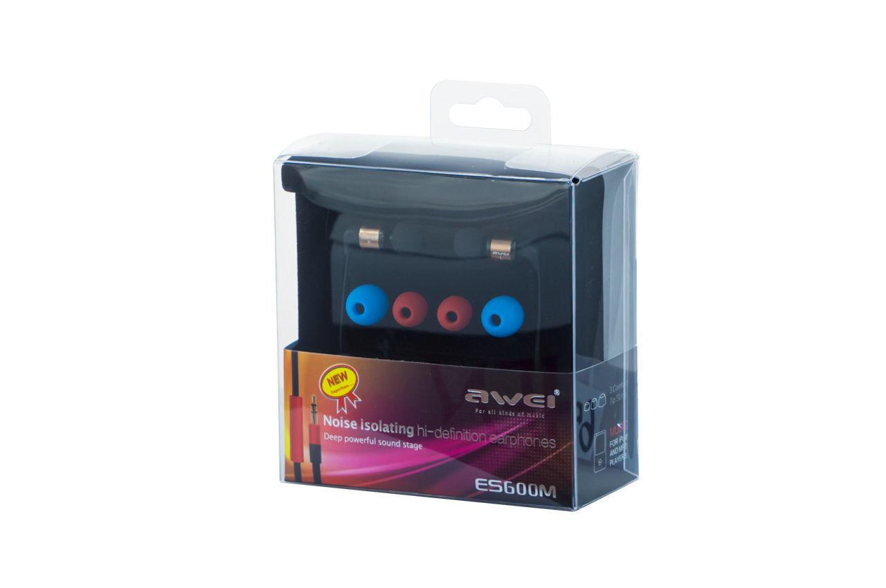 Наушники Awei - ES600M Coffe 1