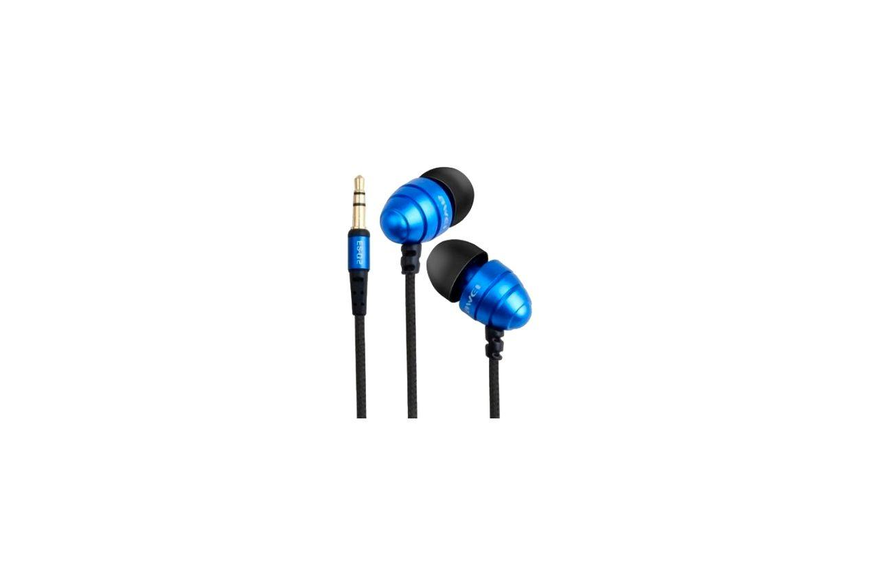 Наушники Awei - ES-Q2 Blue 1