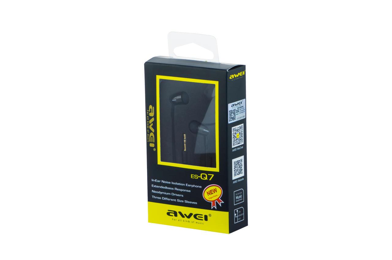 Наушники Awei - ES-Q7 Black 1