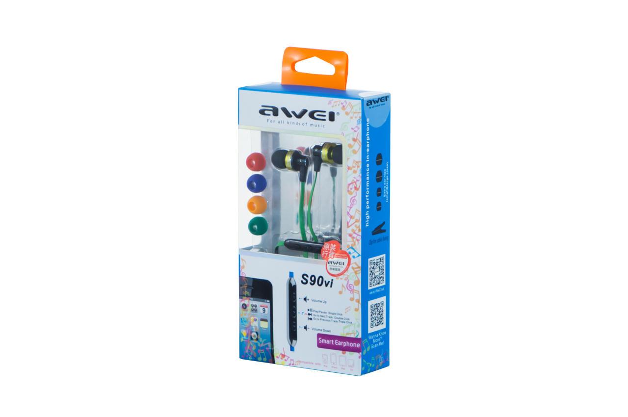 Наушники Awei - S90Vi Green 1