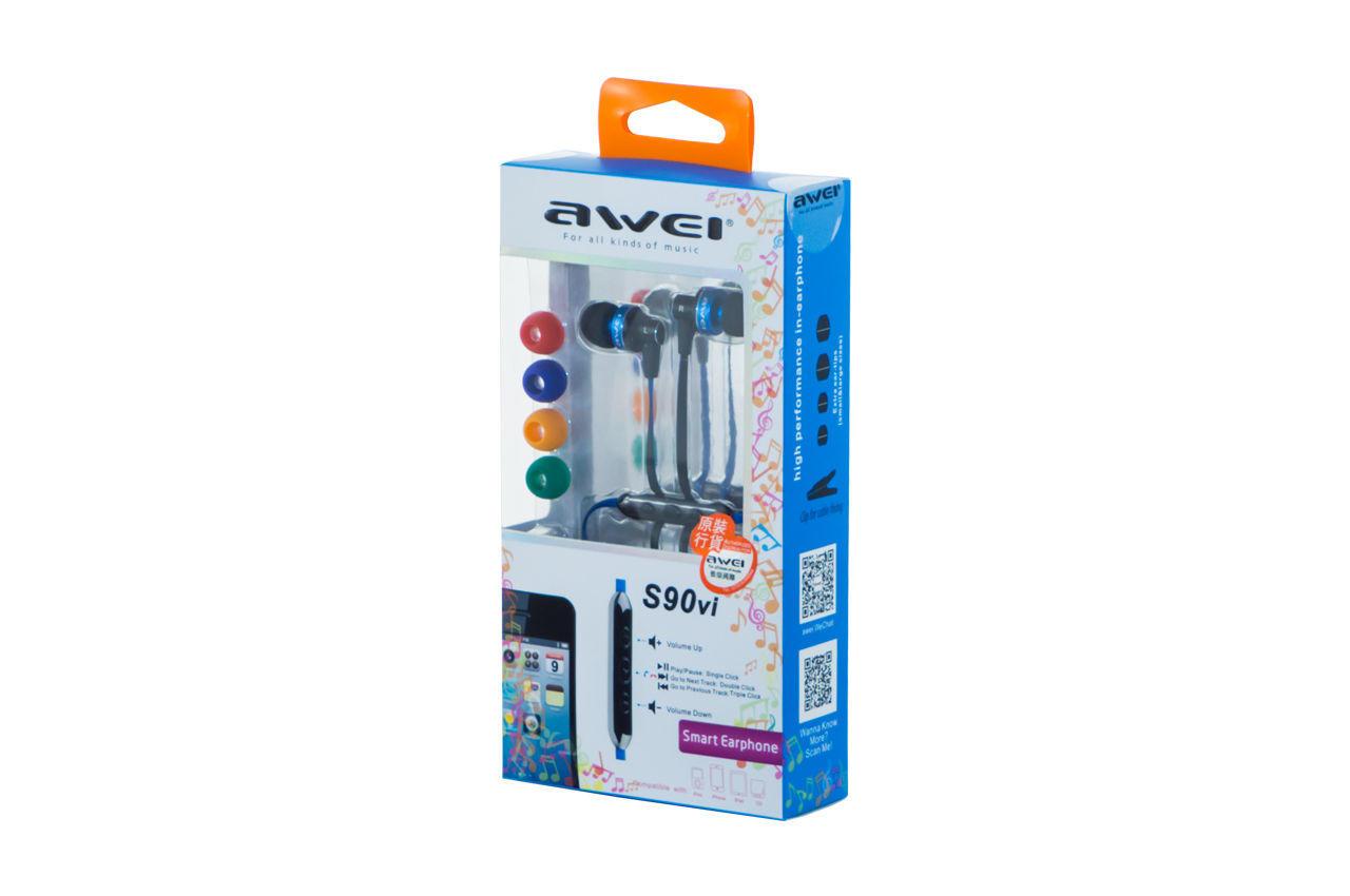 Наушники Awei - S90Vi Blue 1