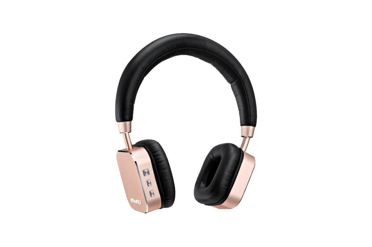 Наушники Bluetooth Awei - A900BL Rose Gold 1