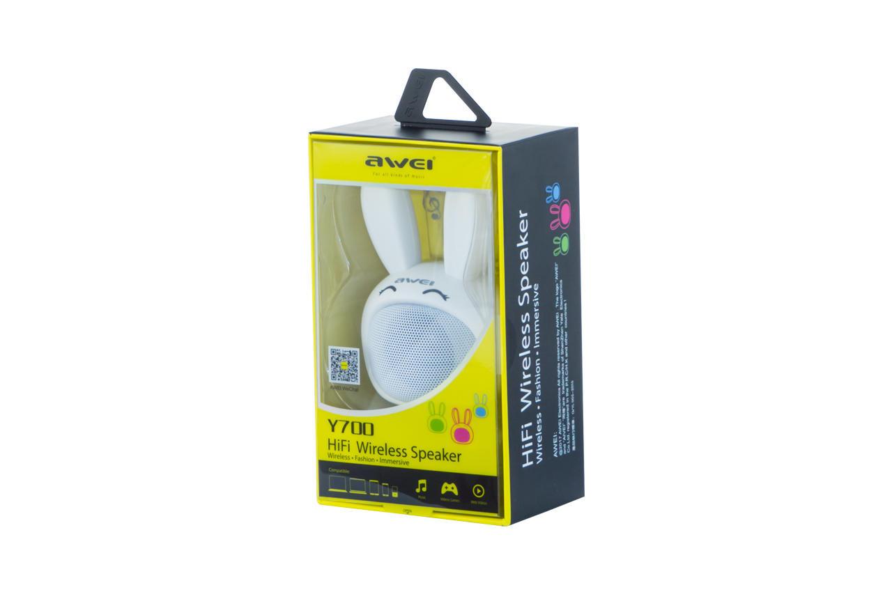 Колонка портативная Awei - Y700 White 3