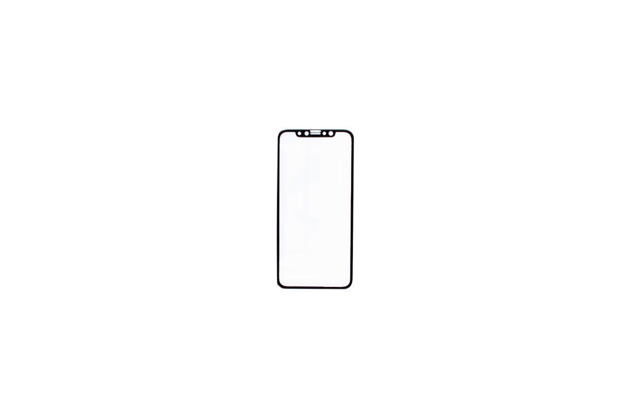 Стекло защитное iPhone - X Plus 4D Black 1