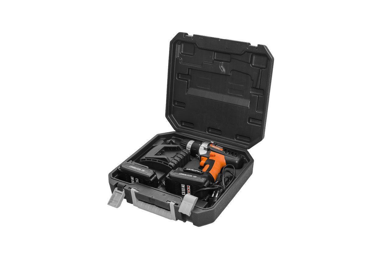 Шуруповерт аккумуляторный Intertool - Storm 18В WT-0318 3