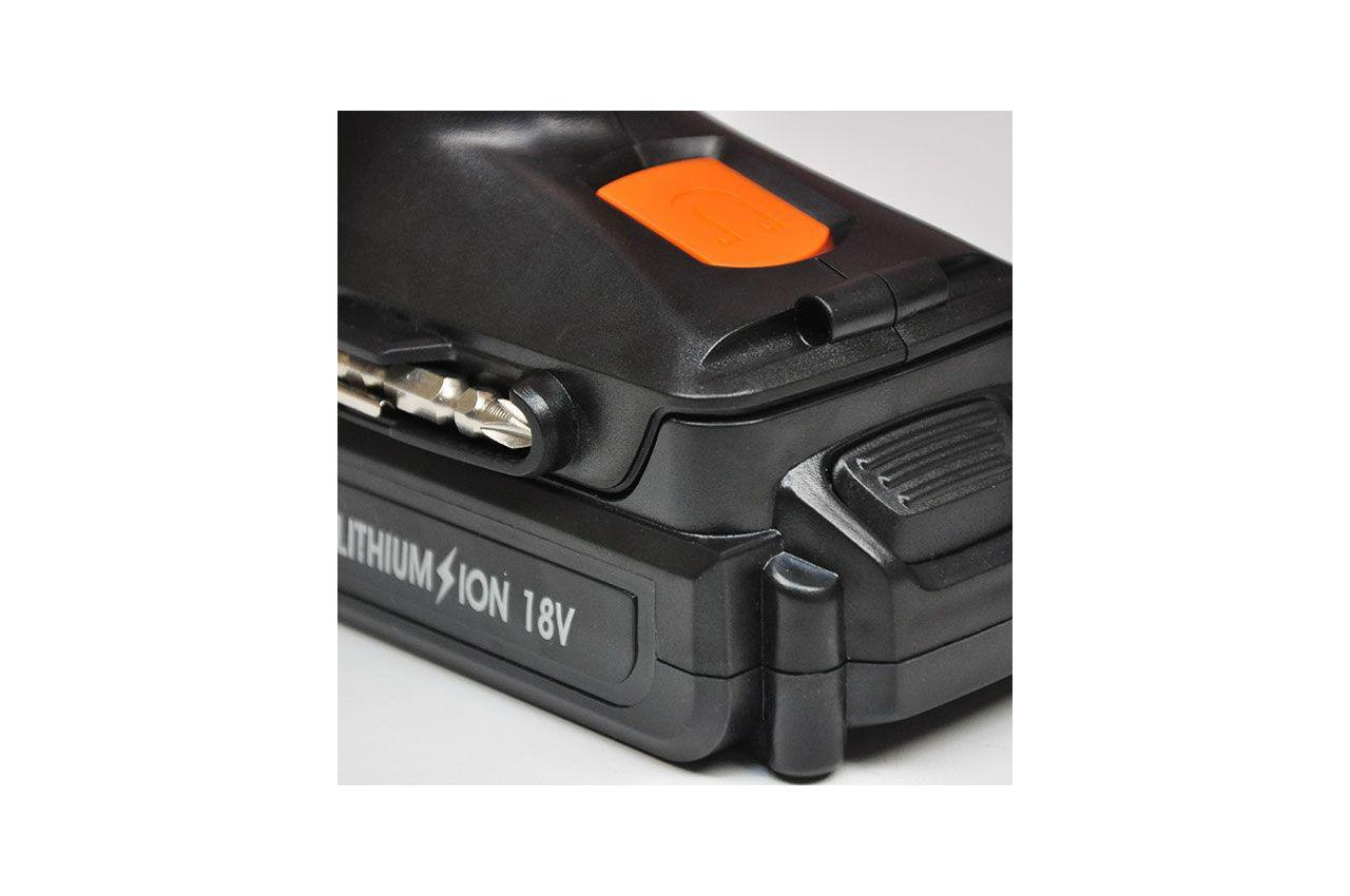 Шуруповерт аккумуляторный Intertool - Storm 18В WT-0318 6
