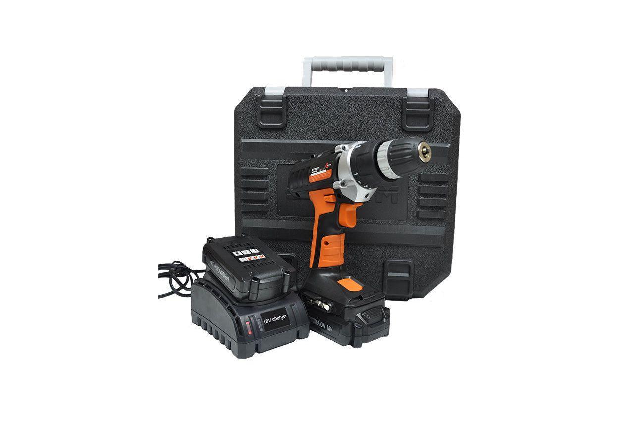 Шуруповерт аккумуляторный Intertool - Storm 18В WT-0318 8