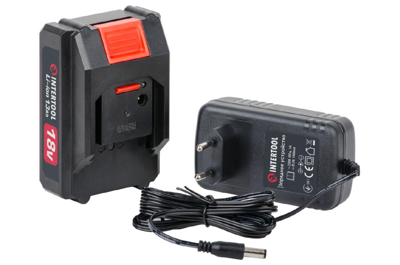 Шуруповерт аккумуляторный Intertool - 18 В DT-0315 3