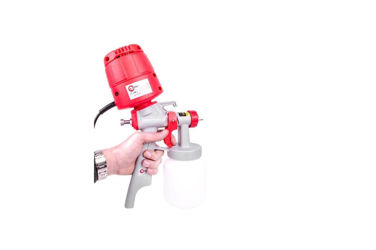 Краскопульт электрический HVLP Intertool - 450Вт x 1000 мл 9
