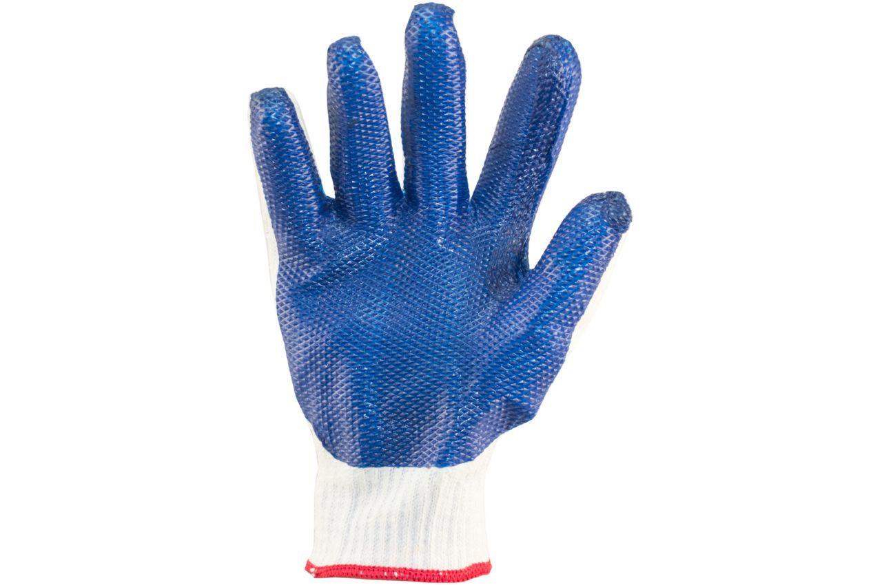 Перчатки Mastertool - стекло (синяя) 10 1