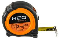 Рулетка NEO - 2 м x 16 мм магнит