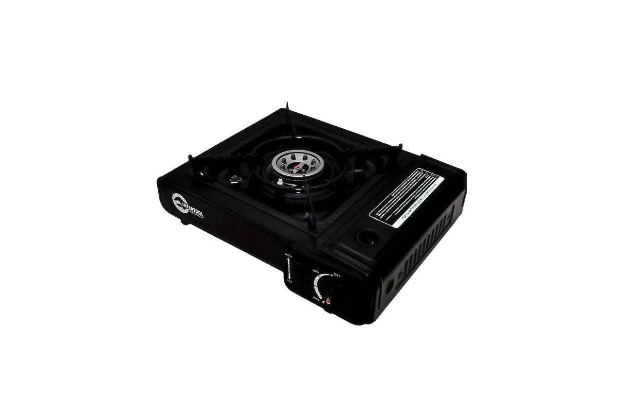 Плита газова портативна Intertool - 342 x 275 x 113 с адаптером 2