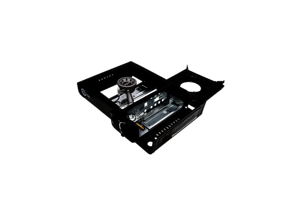 Плита газова портативна Intertool - 342 x 275 x 113 с адаптером 5