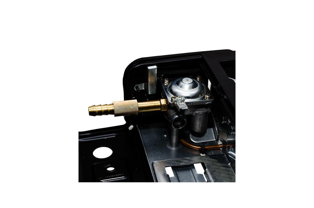Плита газова портативна Intertool - 342 x 275 x 113 с адаптером 8