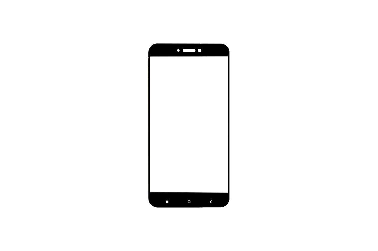 Стекло защитное Xiaomi - 4X Black 1