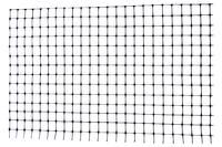 Сетка птичка Клевер - 0,5 x 100м (12 x 14мм) черная