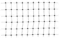 Сетка птичка Клевер - 0,5 x 100м (30 x 35мм) черная