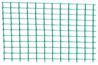 Сетка декоративная Клевер - 1,0 x 20м (20 x 20мм) зеленая