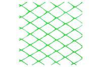 Сетка декоративная Клевер - 1,5 x 25 м (30 x 30 мм) зеленая