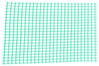 Сетка декоративная Клевер - 1,0 x 20м (10 x 10мм) т-зеленая