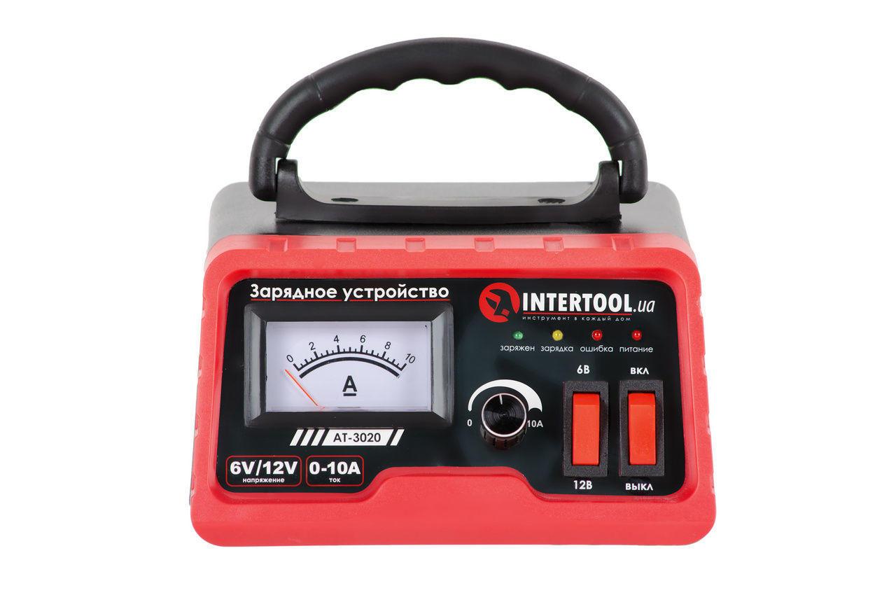 Зарядное устройство Intertool - 6В-12В x 0-10А 1