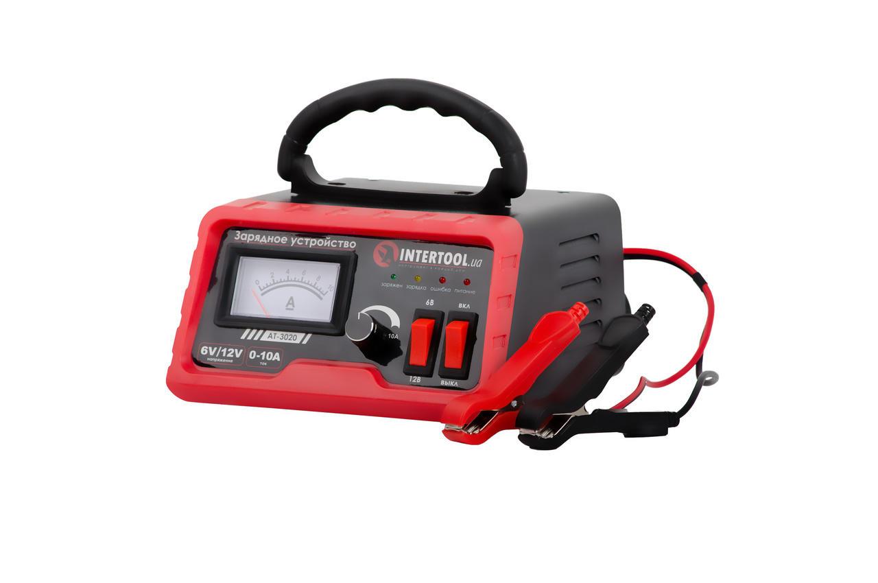 Зарядное устройство Intertool - 6В-12В x 0-10А 2