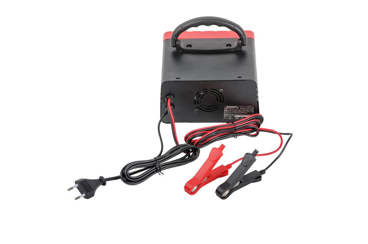 Зарядное устройство Intertool - 6В-12В x 0-10А 3