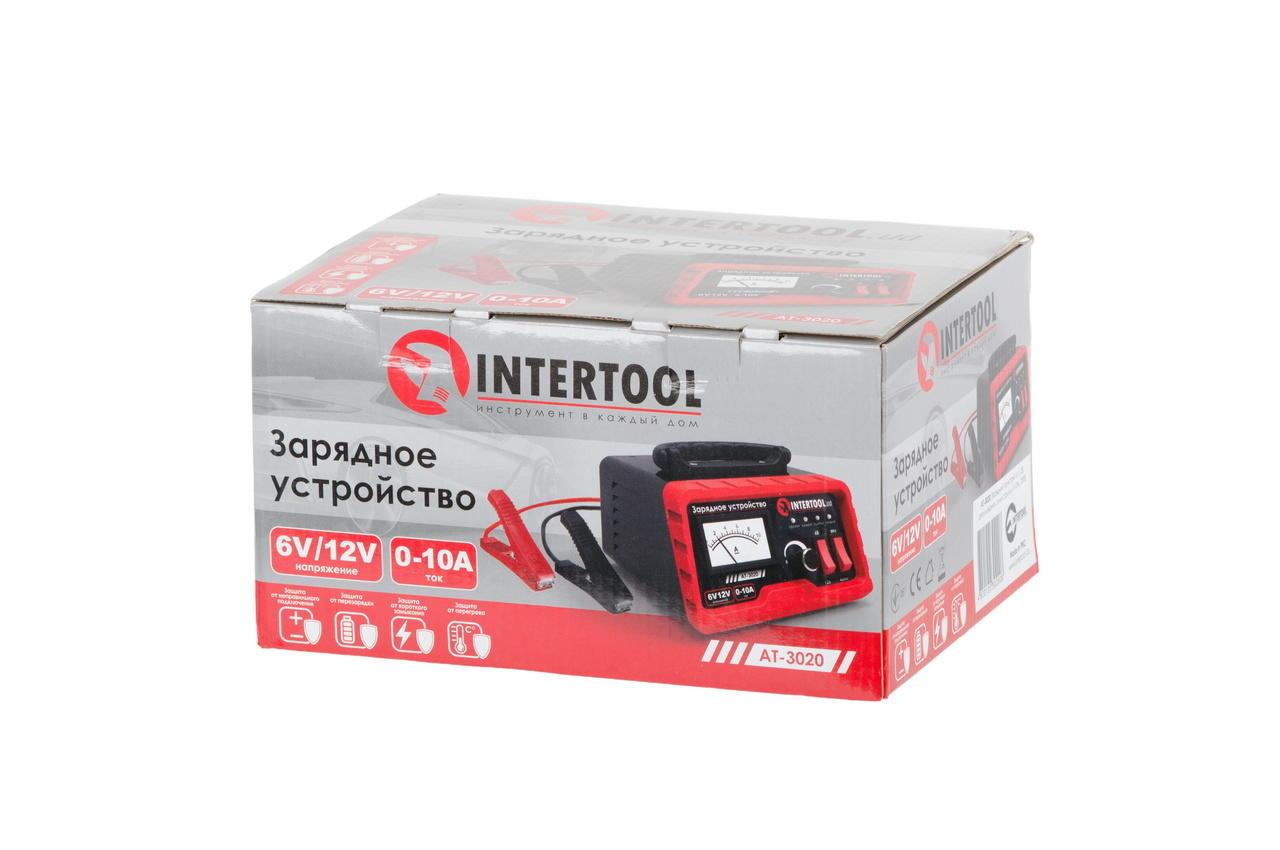 Зарядное устройство Intertool - 6В-12В x 0-10А 4