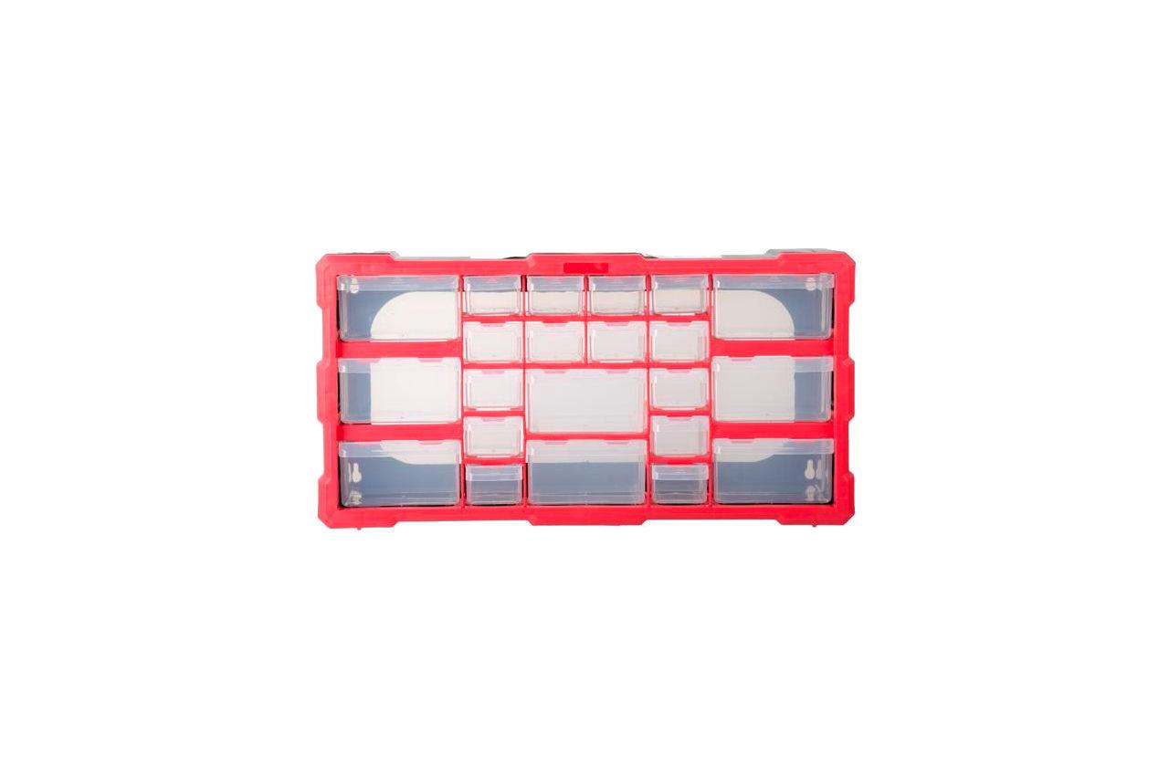 Органайзер для метизов Intertool - 19,5 495 x 255 x 160 мм 1