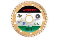 Диск алмазный Verto - 115 мм турбо