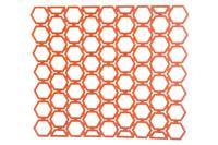 Решетка для раковины HozPlast - 250 x 290 мм, соты