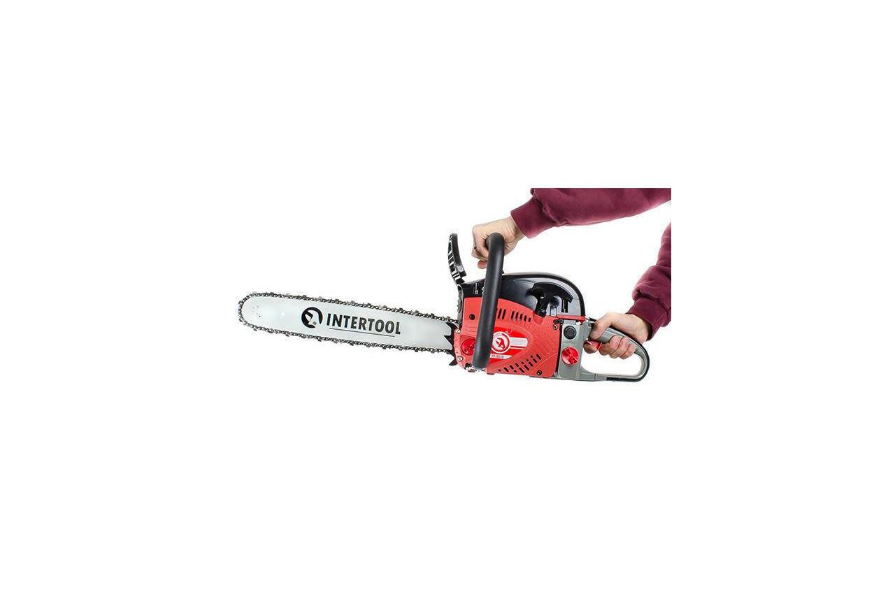 Пила бензиновая Intertool - 2000 Вт 8