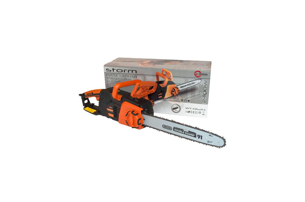 Пила электрическая Intertool - Storm 2400 Вт 7
