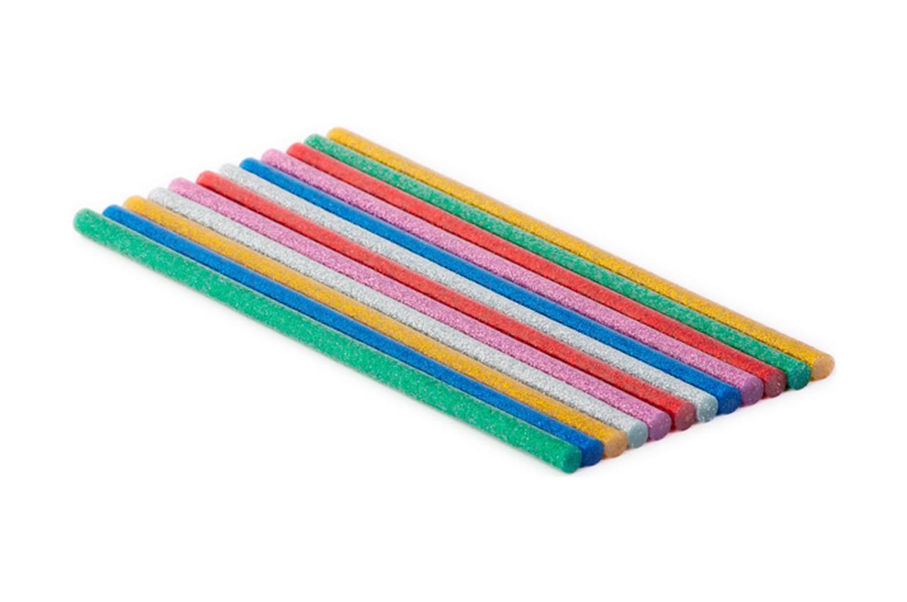 Клеевые стержни Intertool - 7,4 x 200 мм цветные перламутровые (12 шт.) 1