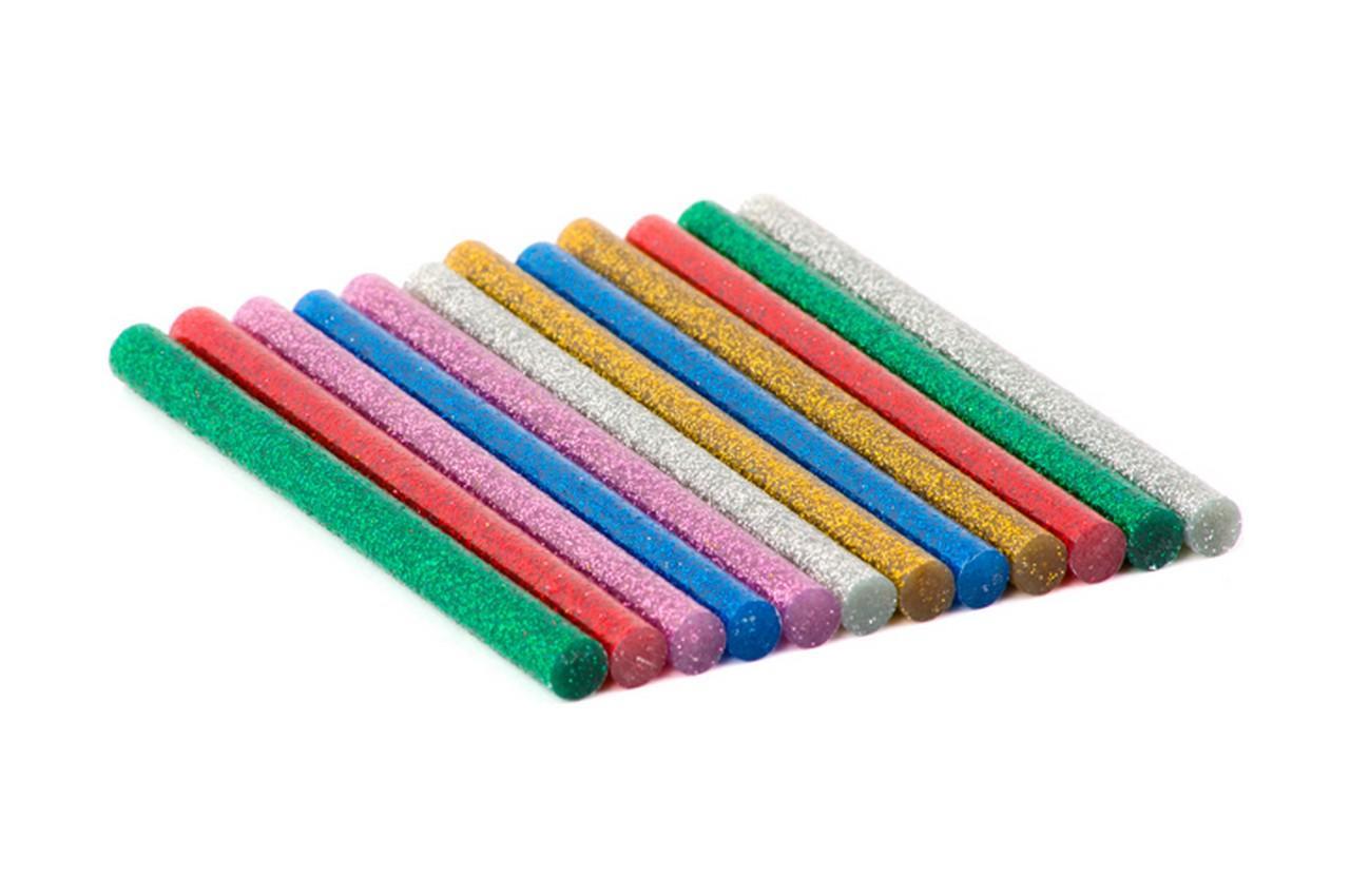Клеевые стержни Intertool - 7,4 x 100 мм цветные перламутровые (12 шт.) 1
